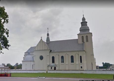 kościół w Dzwoli